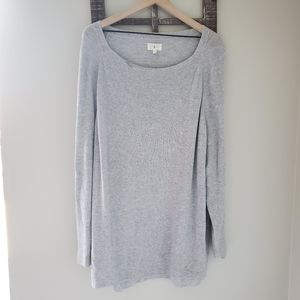 Lou & Grey XL Off The Shoulder Tunic Long Sweater